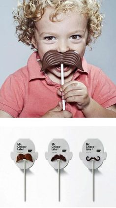 kid with delicious mustache
