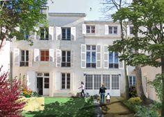 Construction de 7 maisons dans clos privé à 2 pas du centre ville de La Rochelle. Visitez notre site web: http://www.groupe-littoral.com/