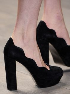 I don't even want to know the label of these shoes because then I would seek them out and obsess...