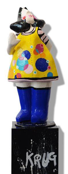 Laure Krug, Pasdames, #Knokke Galerie D'art, Pop, Snow Globes, Sculptures, Artist, Radiation Exposure, Popular, Pop Music, Artists