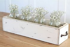 DIY Wood Box Centerpiece | My Home Decor Guide