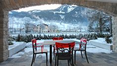 View from the Austrian Village, Studio Design, Apartment Design, Lodges, Holiday Fun, Mountain, Luxury, Outdoor, Beautiful