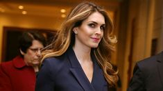 White House communications director Hope Hicks told members of the House Intelligence Committee on Tuesday that she is sometimes required to tell white lies as part of her work for President Trump, according to