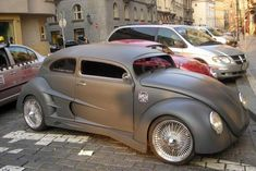 modded VW beetle