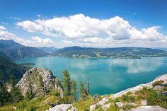 Wunderschöne Aussicht vom Schoberstein in Oberösterreich. HEROLD stellt die schönsten Wanderwege vor. Wanderlust, Mountains, Nature, Travel, Bucket, Road Trip Destinations, Tours, Travel Inspiration, Beautiful Places