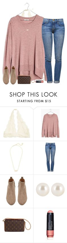 """"" by southernstruttin ❤ liked on Polyvore featuring Madewell, Kendra Scott, Current/Elliott, Witchery, Henri Bendel, Louis Vuitton and Smashbox"