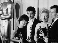 Rita Moreno and George Chakiris Winners of Best Supporting Actor Oscars for