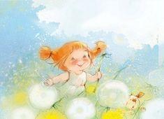 Солнечные детские иллюстрации от Екатерины Бабок (14 рисунков)