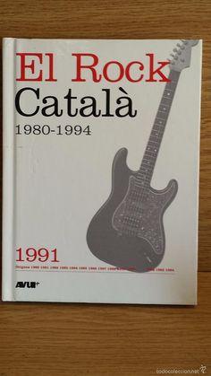 EL ROCK CATALÀ. 1980-1994. LIBRO-CD / PICAP - 1991. ED / AVUI - 18 TEMAS / CALIDAD LUJO.