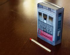 Matchbox Building Matchbox Miniature of the by SuitcaseDollhouse