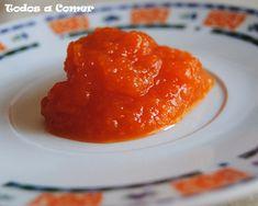 Receta de mermelada de calabaza Homemade Jelly, Sweet And Salty, Preserves, Curry, Good Food, Pudding, Bread, Ethnic Recipes, Desserts