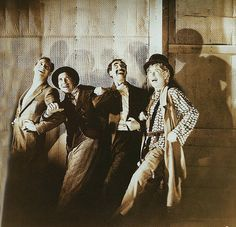 Groucho, Chico, Harpo and Zeppo