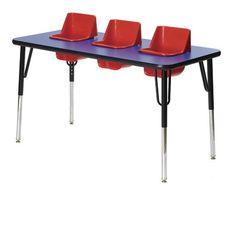 3 Seat Toddler Table
