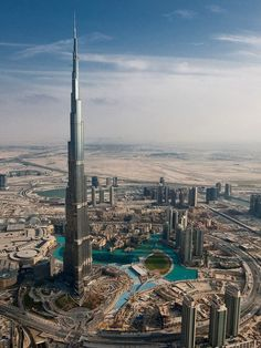 The Burj Dubai - the tallest building in the world. This is a great example of new architecture in Dubai.