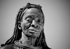 Old Himba woman, Angola by Eric Lafforgue, via Flickr