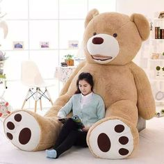 gift boxes for wedding Picture - More Detailed Picture about 2016 New Kawaii Huge Plush Animals Giant Teddy Bear Plush Soft Toys Kids Toys Stuffed Animals Huge Plush Bear Best Gifts Picture in Stuffed & Plush Animals from HanYuan Toy Store Large Teddy Bear, Giant Teddy Bear, Teddy Bear Coat, Teddy Bears, Big Stuffed Animal, Stuffed Animals, Presents For Kids, Plush Animals, Pet Toys