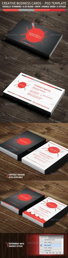 Creative Business Cards - Creative Agency