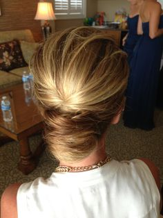 Modern take on the french twist