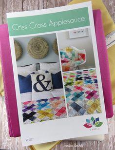 Criss Cross Applesauce Quilt Pattern Fabric Kit - Moda - V and Co - Vanessa Christenson - VC1232 by SunshineFiberArts on Etsy