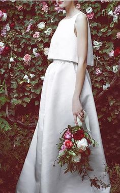 Honor x Stone Fox Bride Spring Summer 2016 Look 3 on Moda Operandi