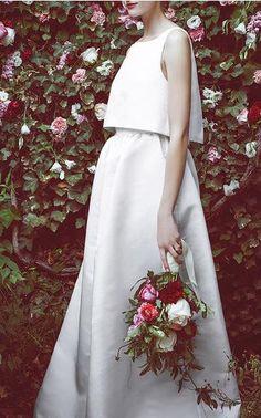 Honor x Stone Fox Bride Spring Summer 2016 Look 3 on Moda Operandi