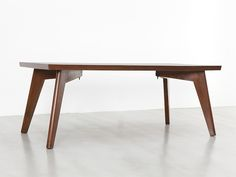 Table, ca. 1960-61 by Pierre Jeanneret - Galerie Patrick Seguin