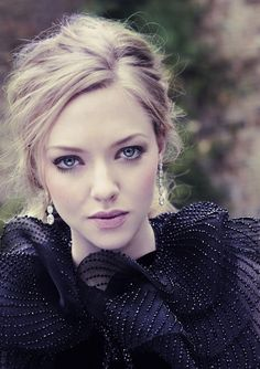 Amanda Seyfried. Not usually her biggest fan but I must say she looks really good in this picture.