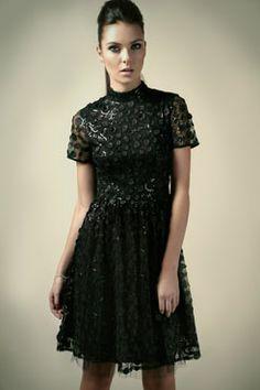 Boutique Polly Sequin Applique High Neck Prom Dress at boohoo.com