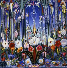 Joseph Stella | Flowers, Italy | Phoenix Art Museum | Discover and Shop Museum Art Prints | 1000Museums