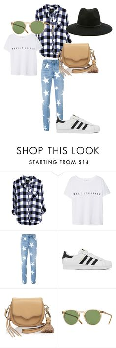 """""""Hurt"""" by fashion-classy1 on Polyvore featuring moda, MANGO, STELLA McCARTNEY, adidas, Rebecca Minkoff, Oliver Peoples y Forever 21"""