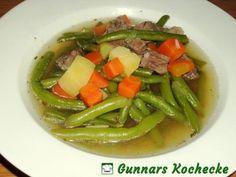 Grüne-Bohnen-Eintopf mit Rindfleisch