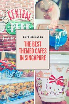 The best theme cafes in Singapore