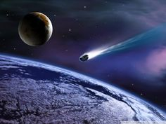 Space Exploration: Space Satellites and Planets Widescreen - Space Art : An Asteroid Approaching The Earth 4 Sistema Solar, Planets Wallpaper, Hd Wallpaper, Wallpaper Awesome, Desktop Wallpapers, Doomsday Predictions, Moon Surface, Astronomy Pictures, Space Images