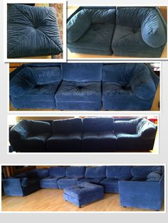 Family room on pinterest blue velvet sofa sectional for Living room furniture kijiji edmonton