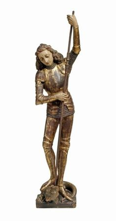Figura św. Jerzego zabijającego smoka, Malbork