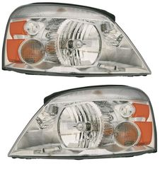 04-07 Ford Freestar Mercury Monterey Headlights Headlamps Left & Right ...NEW #AftermarketReplacement