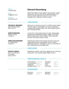Best Marketing Resumes 2015 - Google Search | Resumes | Pinterest