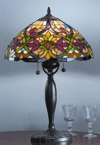 A Tiffany lamp is a style of lamp originally crafted. Dust, dirt and grime can dim that light, so Tiffany lamp shades will need regular cleaning. Tiffany Lamp Shade, Tiffany Style Table Lamps, Tiffany Lamps, Louis Comfort Tiffany, Art Nouveau, Art Deco, Stained Glass Table Lamps, Cheap Lamps, Lampshade Designs