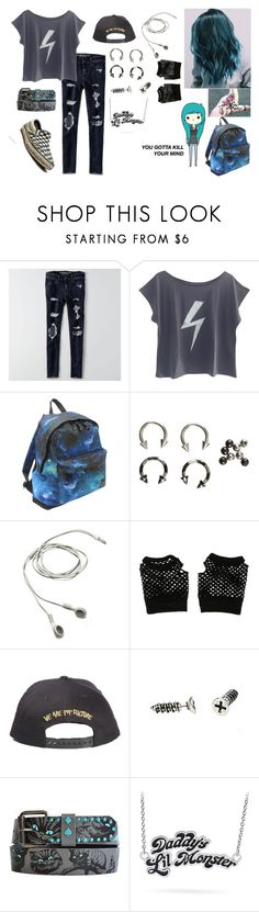"""""""I got to go"""" by ejoygnow ❤ liked on Polyvore featuring American Eagle Outfitters, The Vintees T-Shirts Co. and Hot Tuna"""