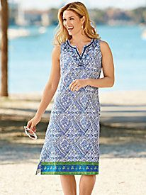 Breezy, beautiful and comfortable ~ Seaside Dress from Blair