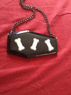 Rattlin' bones necklace  by CoffinCutie on Etsy, $12.00