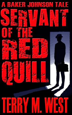 """""""With Servant of the Red Quill, West picks up the story two years later, with Baker having become a poor, drunken, sullen recluse, rather than the dark sort of avenging hero we may have expected after the first chapter. While he has no interest in resurrecting the Black Room, much less ever filling it again, an unwelcome visitor drags him back into the world of parapsychology..."""""""