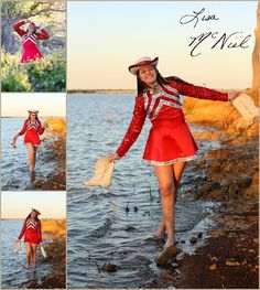 Click the pic for senior pictures with 8 outfits in this fun, creative, drill team girl from Flower Mound!, Texas, Dallas Photographer