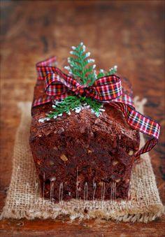 Dark Chocolate Whisky Cake