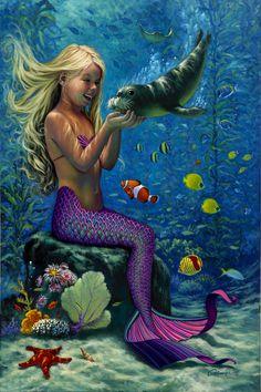 Beautiful Atlantis Mermaid
