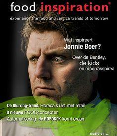 Bekijk het Food Inspiration Magazine Editie 9: Blurring.  Met Jonnie Boer's inspiratie, blurring, robokoks en robotenders, inspiring openings en Espresso.