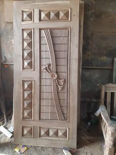 Flush Door Design, Home Door Design, Door Gate Design, Door Design Interior, Modern Wooden Doors, Contemporary Front Doors, Wooden Front Door Design, Wooden Front Doors, Single Main Door Designs