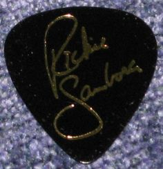 richie sambora twitter | Richie Sambora's guitar pick | Flickr - Photo Sharing!