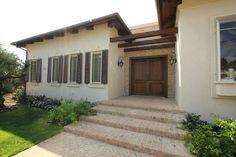 Entrance Doors, Garage Doors, Balcony Design, Window Boxes, Sweet Home, Entryway, Stairs, Exterior, House Design