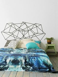 Holz Bett Kopfteil Vintage Pflanzgefäße Wanddekoration Schlafzimmer | Diy  Betten | Pinterest | Bedrooms, Interiors And DIY Furniture